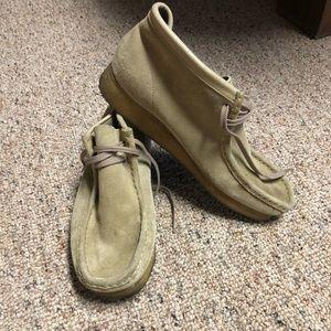 Clark's men's Wallabe shoes